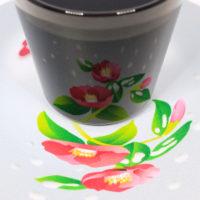 イリュージョンコースター雪椿・グラスセット